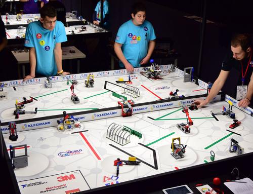 Κατασκευή τραπεζιών First Lego League