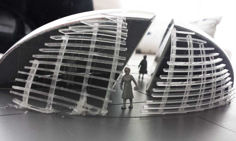 Κατασκευή αρχιτεκτονικής μακέτας