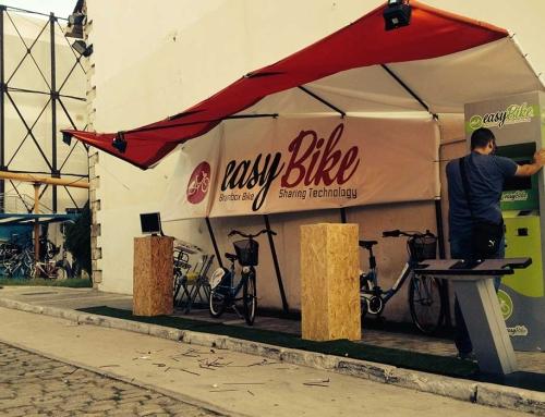 Exhibition Kiosk for Easy Bike