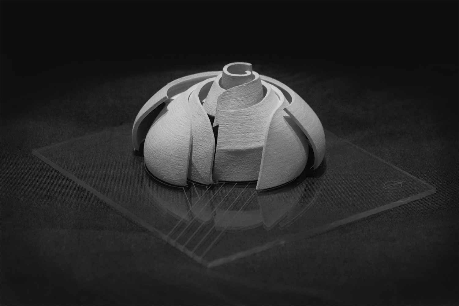 3D Printed Shell - Creative Lab