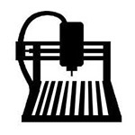 CNC Router Icon - Creative Lab