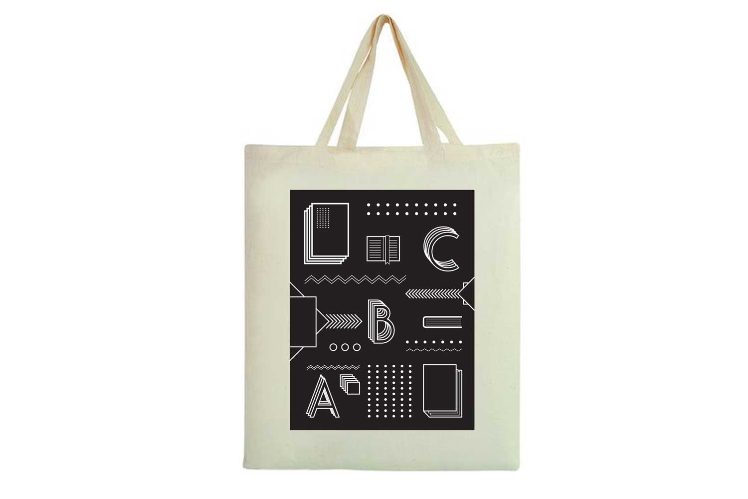 Library hand bag - Graphic Design