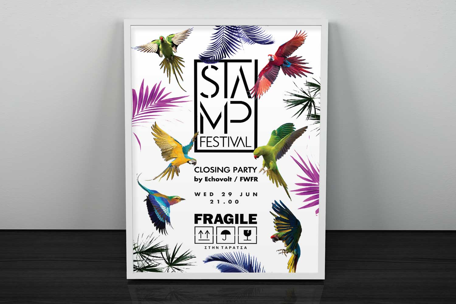 STAMP Festival - Closing Party Poster - Graphic Design