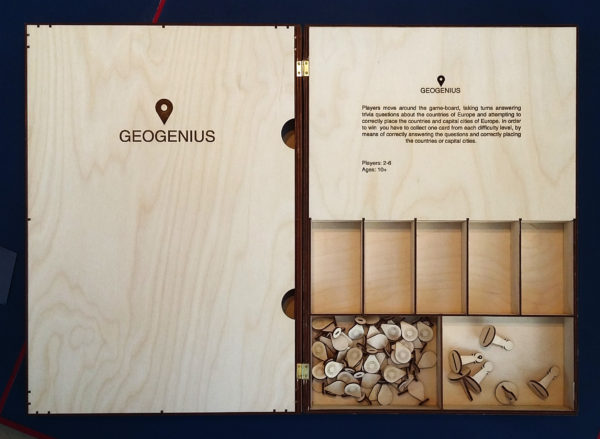 Geogenuis board game