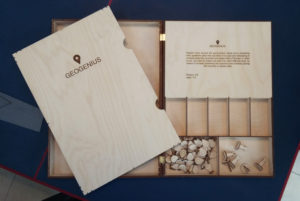 Geogenius board game