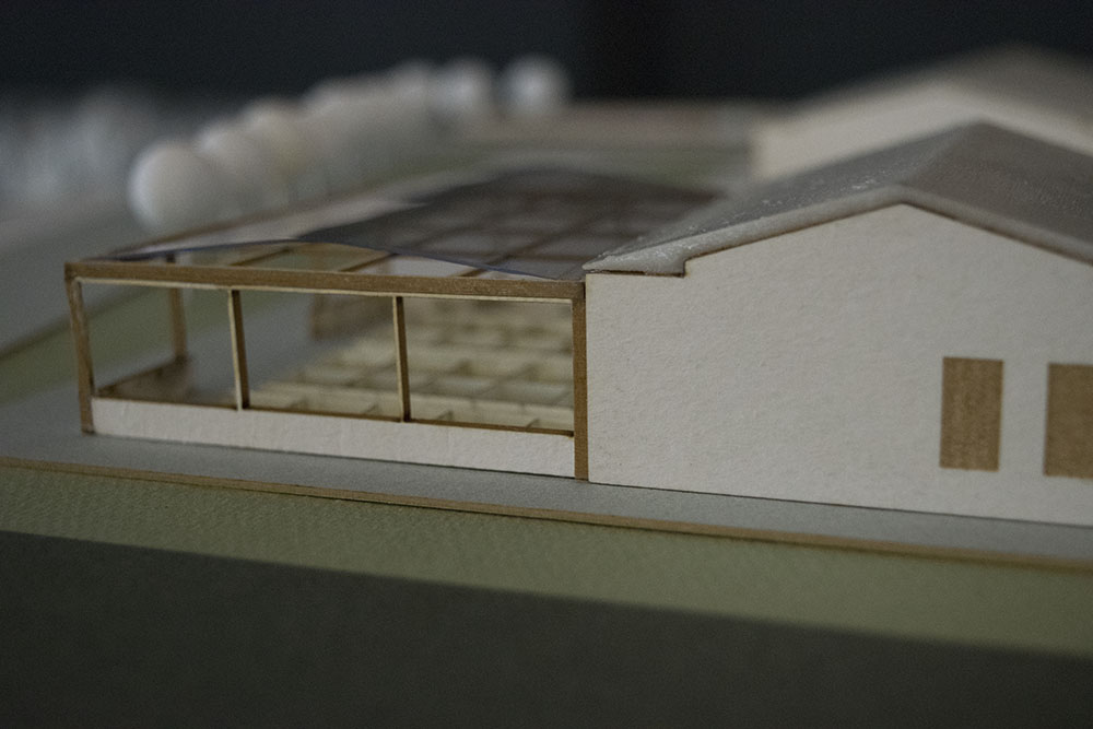 Scale model for the R.G.C.C.