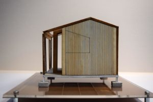 scale model small house