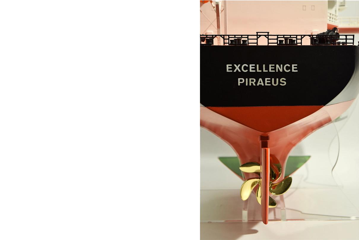 bulk ship scale model glafkos