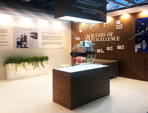 Exhibition Kiosk in Posidonia Expo 2018