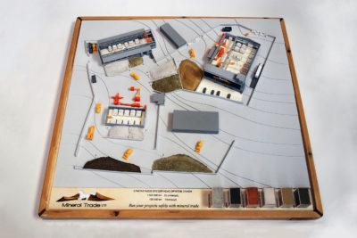 αρχιτεκτονική μακέτα mineral trade