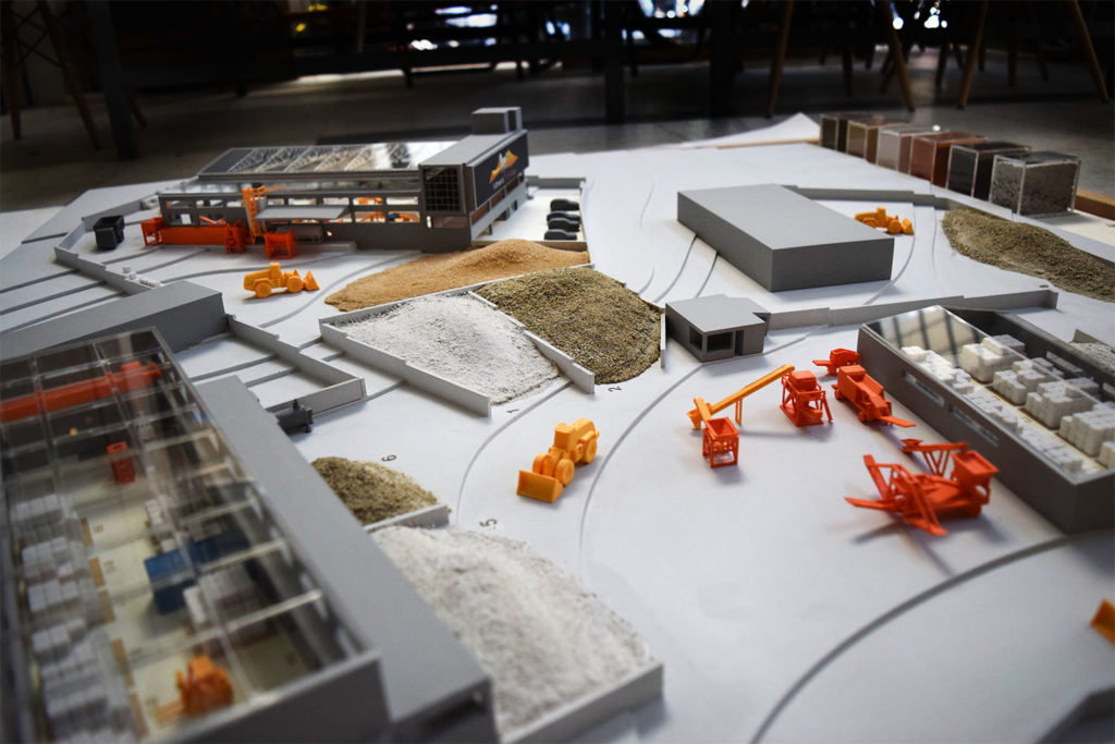 mineral trade scale model