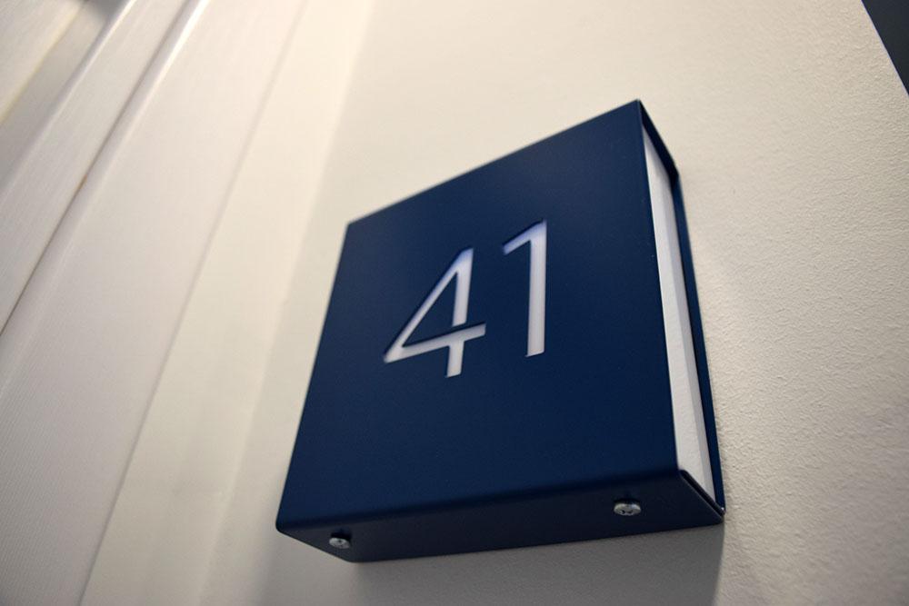 caravan room numbers