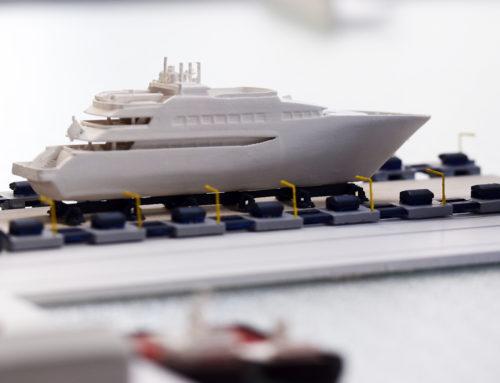 Scale model – ONEX Neorion Shipyards