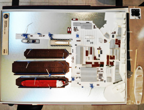 Scale model – ONEX Neorion Shipyards
