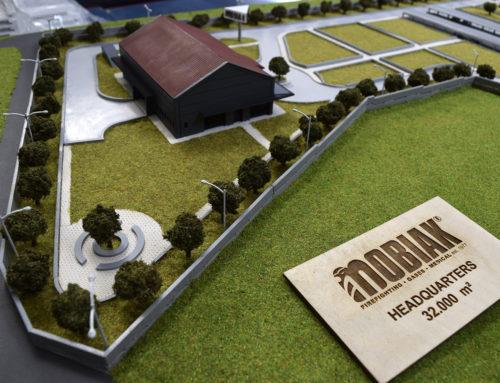 Mobiak scale model