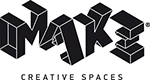 MAKE Creative Spaces Sticky Logo Retina