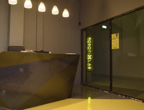 Reception desk – Robotixlab