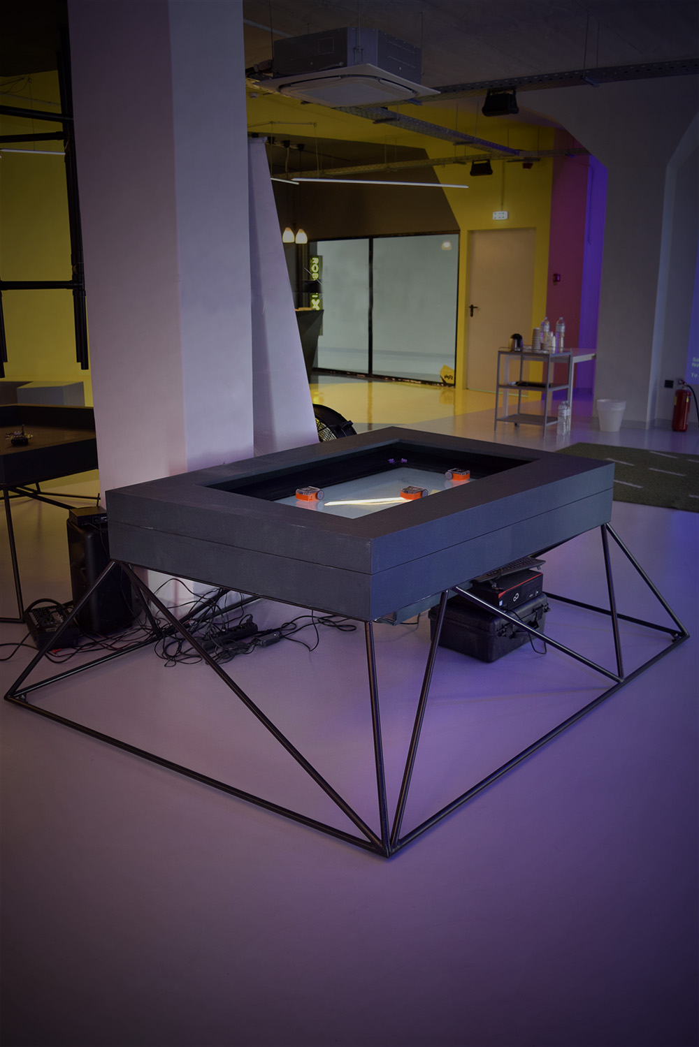 robotic game tables