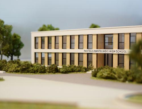 School Complex Architectural Model