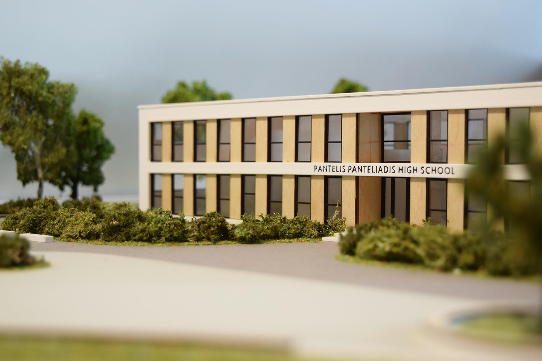 Αρχιτεκτονική Μακέτα Σχολείου