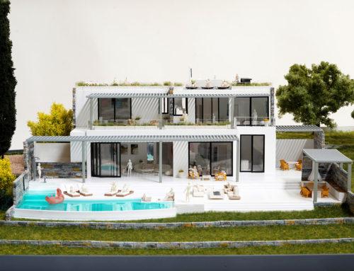 Scale Model Villa at KEA